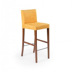 Bolongo Ahşap Bar Sandalyesi