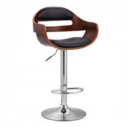 Hermes Ayarlanabilir Ahşap Bar Sandalyesi