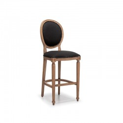 Madalyon Ahşap Bar Sandalyeleri