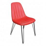 Firkete Ayaklı Cafe Sandalyesi