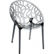 Siesta Crystal Sandalye Külgri Transparan