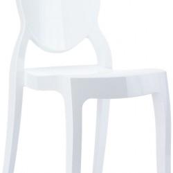 Siesta Elizabeth Baby Sandalye Parlak Beyaz