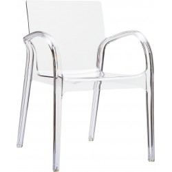 Siesta Dejavu Şeffaf Sandalye