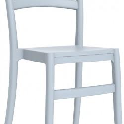 Siesta Tiffany Sandalye Gümüş Gri