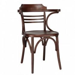 Kollu Thonet Sandalye Yatay Çitalı