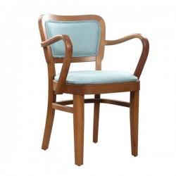 Ahşap Kollu Sandalye 17