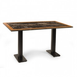 Alison İkili Mermer Masası