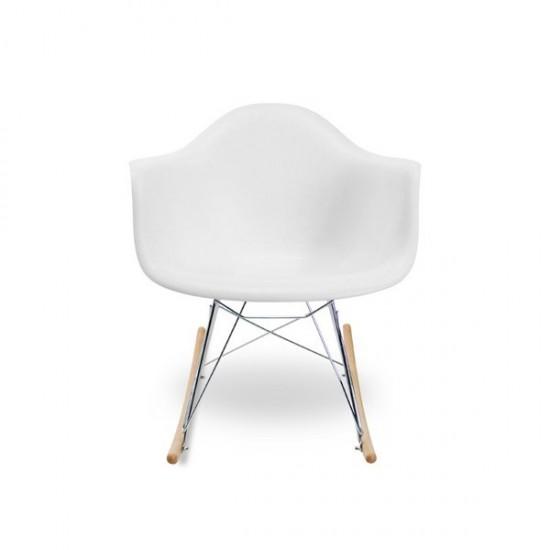 Eames Sallanan Sandalye Beyaz
