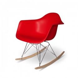 Eames Sallanan Sandalye Kırmızı