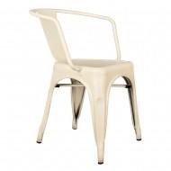 Kollu Tolix Sandalye Beyaz