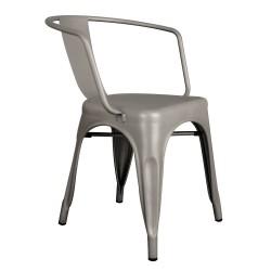 Kollu Tolix Sandalye Gümüş