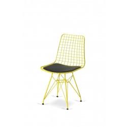 Sarı Tel Sandalye