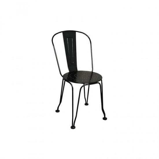 Yerli Tolix Sandalye Siyah