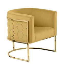 Gold Kaplama Sandalye