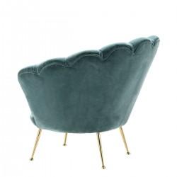 Lüxs Yamuk Sandalye Mavi