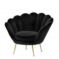 Lüxs Yamuk Sandalye Siyah