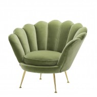 Lüxs Yamuk Sandalye Yeşil